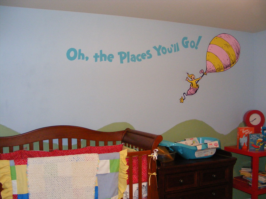 Dr seuss dr suess theme wallpaper wall paper art sticker flickr dr seuss dr suess theme wallpaper wall paper art sticker mural decal handmade hand painted gumiabroncs Choice Image