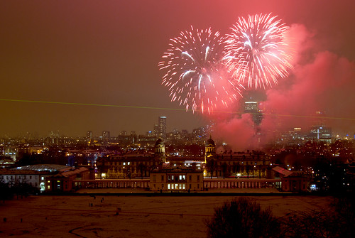 Greenwich Royal Borough Fireworks | by wizbowes