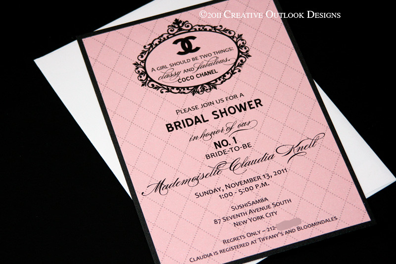 Coco chanel bridal shower invitation interested you can p flickr creativeoutlookdesigns coco chanel bridal shower invitation by creativeoutlookdesigns filmwisefo