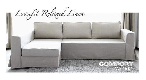 ikea manstad sofa bed custom slipcover comfort works loo flickr. Black Bedroom Furniture Sets. Home Design Ideas