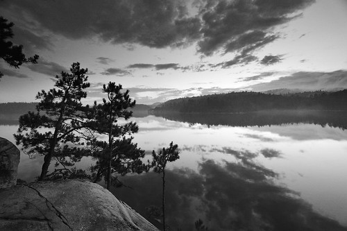 Wolf Lake Outlook | by Peter Bowers