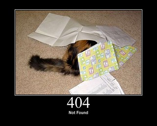 404 - Not Found | by GirlieMac