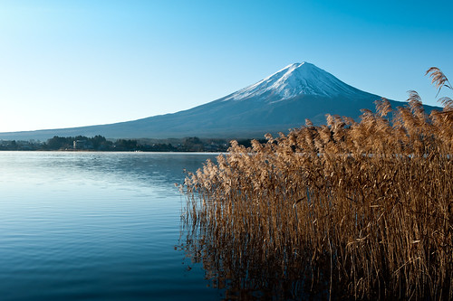 Fuji in Early Winter