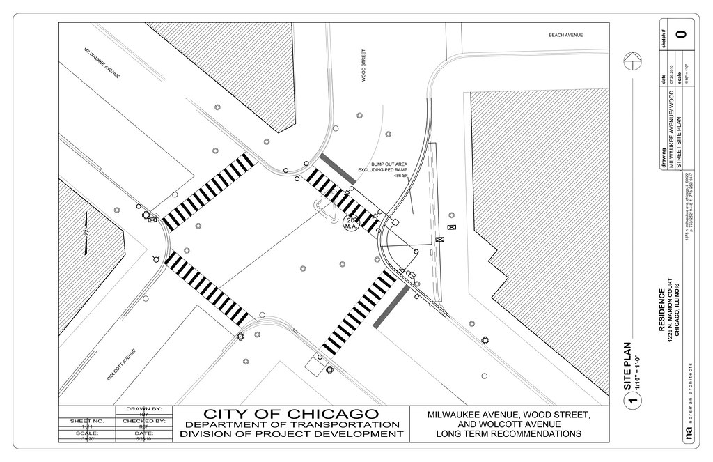 CDOT's design for Milwaukee-Wood intersection