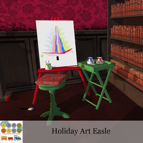 Abby Lane - Holiday Art Easle Ad | by bC Baby Couture