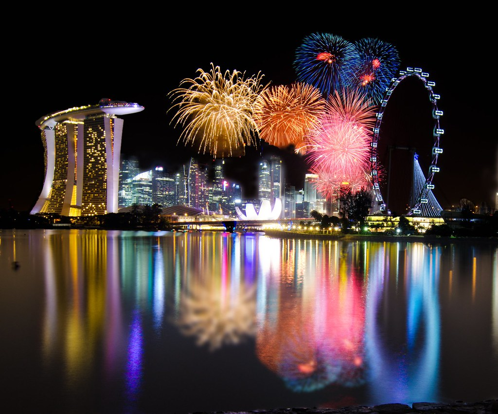 singapore 2012 countdown firework by wang guowen gwwang