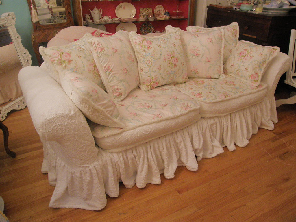 ... Vintagechicfurniture Custom Shabby Chic Sofa By Vintage Chic Furniture  Schenectady Ny | By Vintagechicfurniture