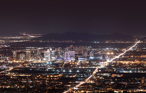 Downtown Phoenix Skyline at Night | by squeaks2569