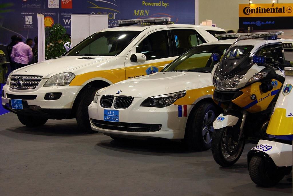 Qatar Motor Show Police Vehicles Second International Ed Flickr