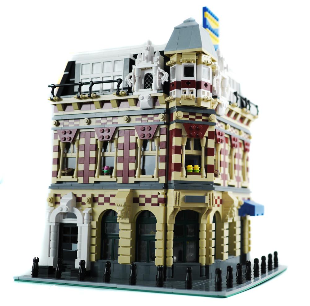Lego Corner Shop Apartments Flickr