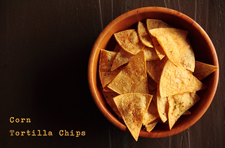 Baked Corn Tortilla Chips | by pastryaffair