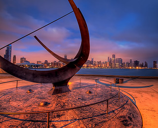 Sundial at Adler Planetarium | by 12thSonOfLama