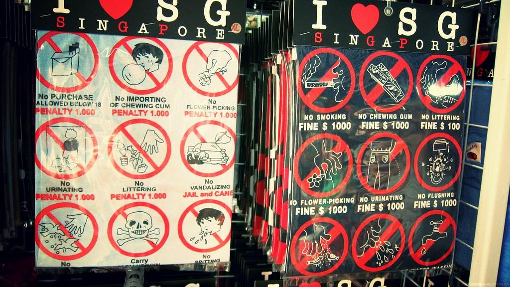 I Love SG T-shirt