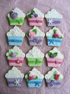 Cupcake shaped cookies | by bubolinkata