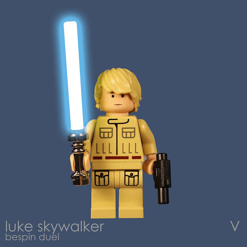 Luke Skywalker (Bespin Duel) | by bruceywan