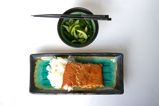 Teriyaki trout with quick pickles II | by Patent and the Pantry