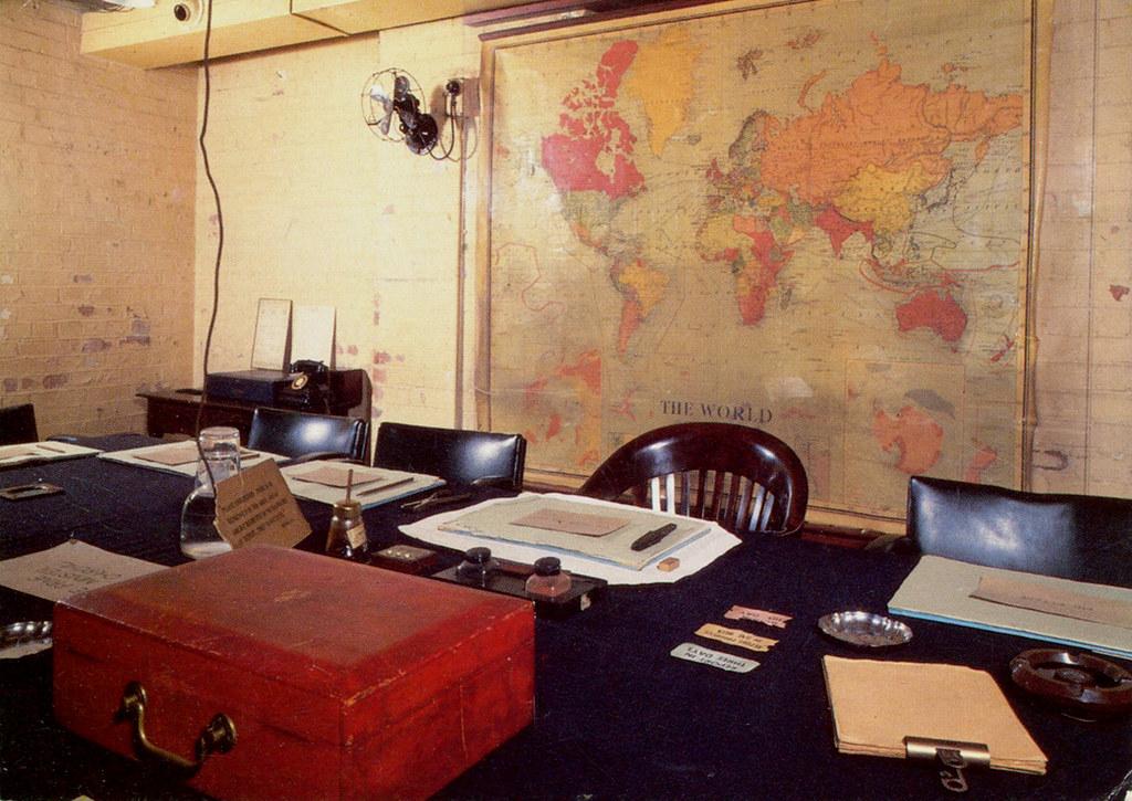 London - Cabinet War Rooms - 1 (Postcard) | The Cabinet Room… | Flickr