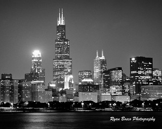 Night Skyline, Chicago.  EXPLORE | by rnx070