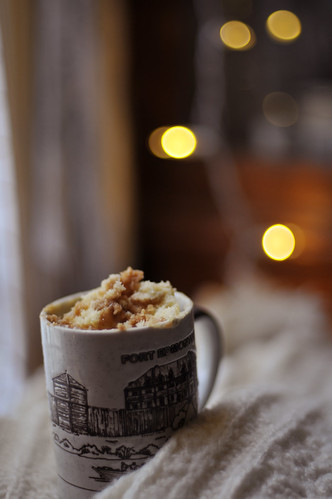 coffee cake in a cup | by wildorange55