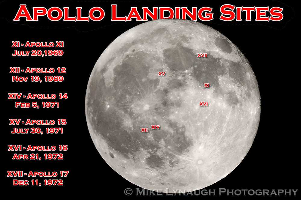 NASA  Apollo landing sites  Full Moon  121111  Flickr