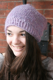 "Ripley in Rowan Creative Focus Worsted ""Heathery Lavender"" 