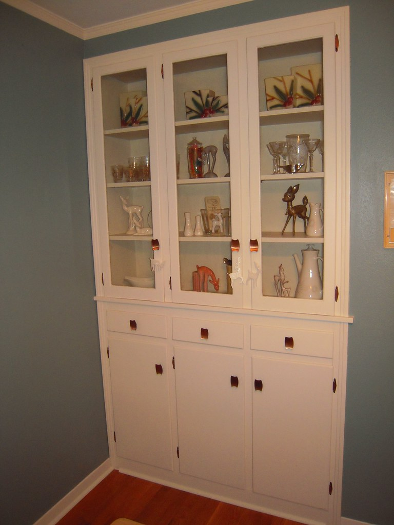 Built-in China Cabinet | One of my favorite features in the … | Flickr