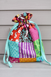 Drawstring Bag | by Jeni Baker | In Color Order