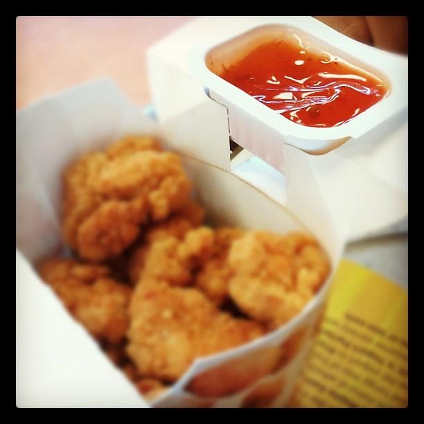 These Have Sauce Holders Omg Mcbites Sauce Holder Mcd Flickr