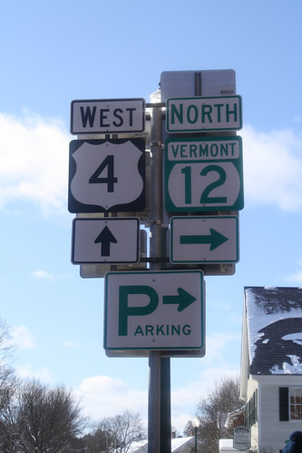Intersection in Woodstock, VT | by ConnecticutDayTrips