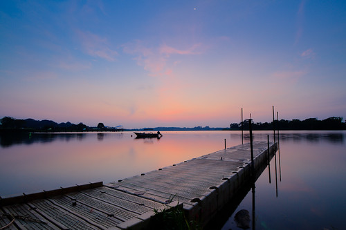 Dawn at Lower Seletar Reservoir, Singapore | by Shutter wide shut