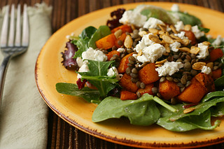 lentil squash salad 4 | by crumblycookie