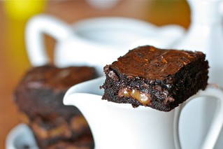 Caramel Brownies | by Hungry Housewife