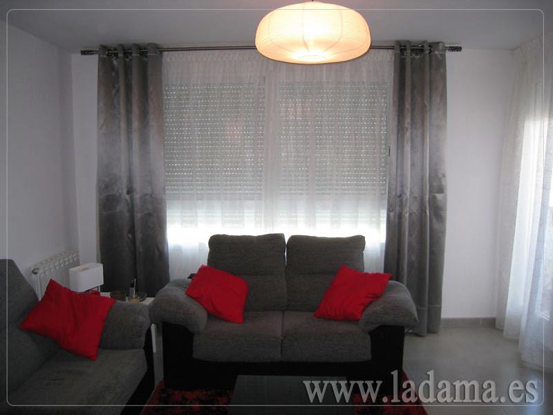 Cortinas salones modernos free with cortinas salones for Cortinas y estores modernos