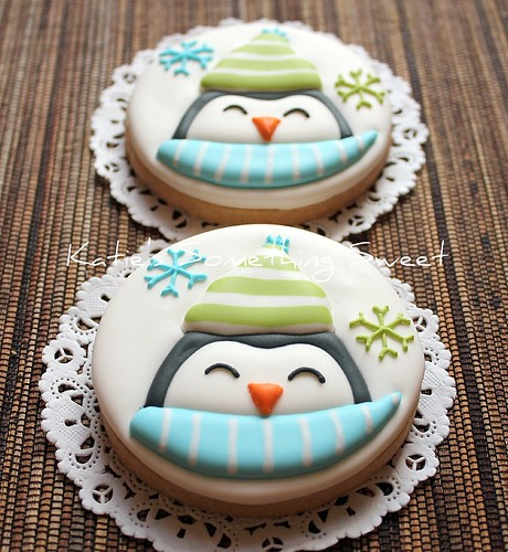 Penguin Cookies | by Katie's Something Sweet