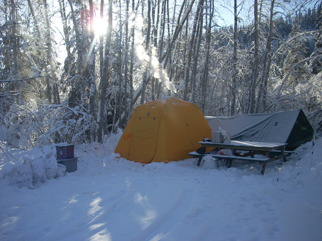 Arctic Oven Tent | by Tombstone-Mark & Cool Camp...Arctic Oven Tent | Love these tents. They are mau2026 | Flickr