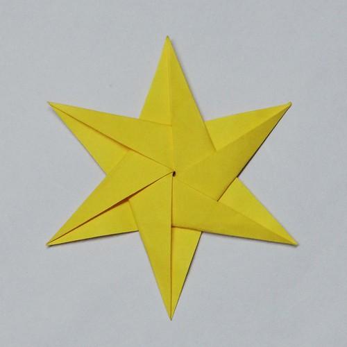 6 pointed star origami stern name 6 pointed star desi flickr. Black Bedroom Furniture Sets. Home Design Ideas