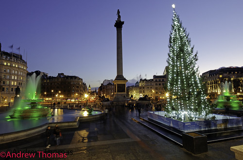 Trafalgar Square London Christmas 2011 | by Andrew Thomas 73