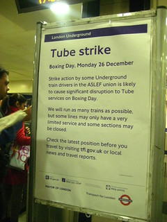 Boxing Day Tube Strike - December 2011 | by Annie Mole