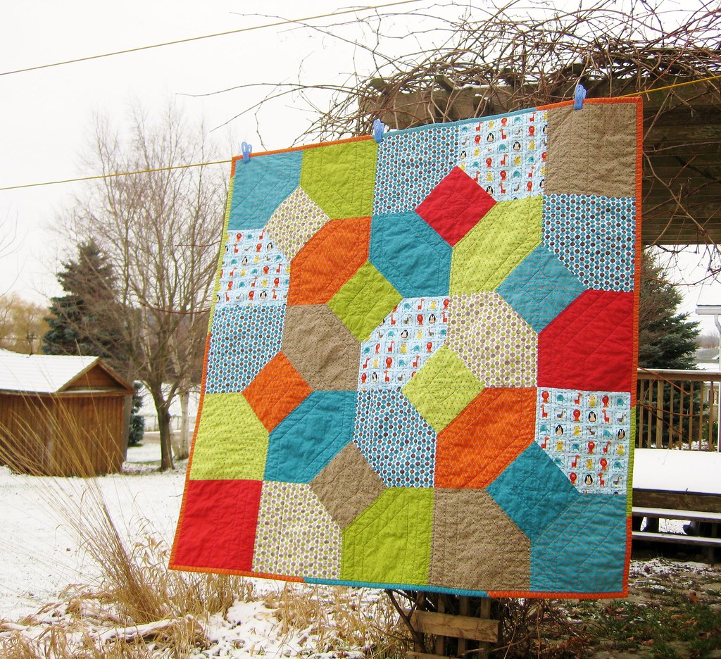 Christmas gifts, Miles\' quilt | BLogged here: twelfthzodiac.… | Flickr