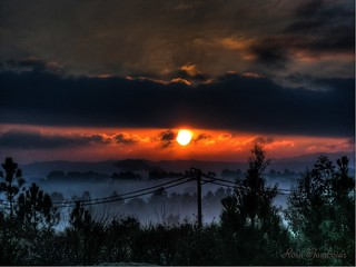 Misty sunrise... | by Rosa Gamboias