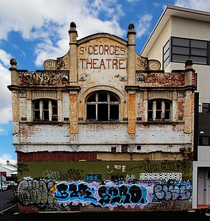 st georges theatre yarraville next to yarraville train