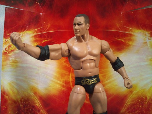 WWE MATTEL LEGENDS SERIES 3 THE ROCK | by imranbecks