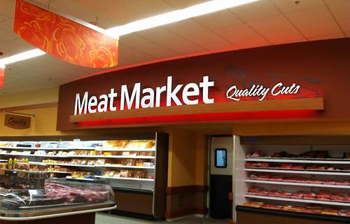Interior Market Design Market Decor Design Meat Area D