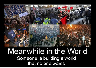 Meanwhile in the world demotivatioinal | by Inzirio Draghelli