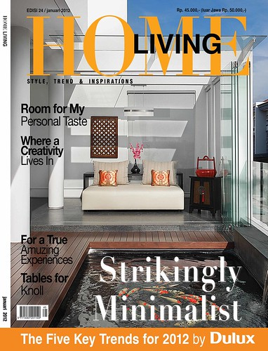 cover majalah home living edisi 24 star bintang new logo s flickr. Black Bedroom Furniture Sets. Home Design Ideas