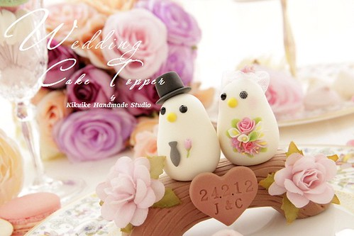 how to cut a wedding cake video wedding cake topper bird with wood bridge www etsy 15632