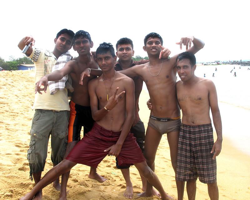 Sri lankan guys