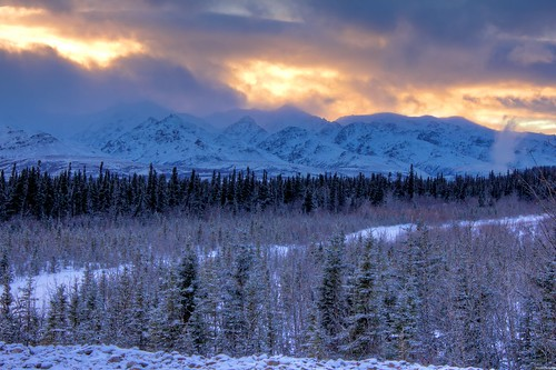 The Alaska Range | by Alexander Sollie