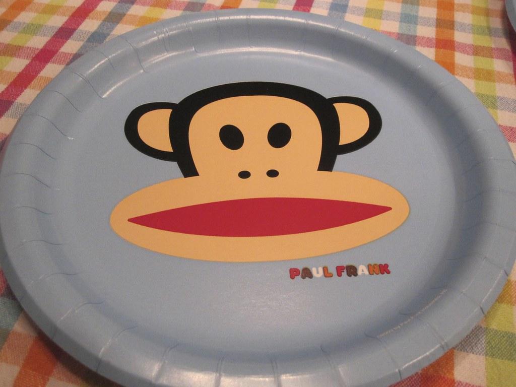 ... Paul Frank monkey birthday paper plate | by Scott McLeod & Paul Frank monkey birthday paper plate | Happy birthday! | Scott ...