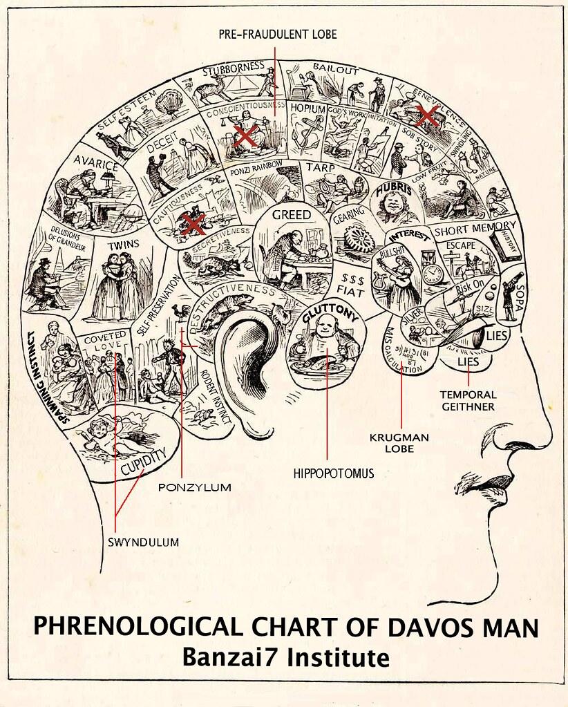 PHRENOLOGICAL CHART OF DAVOS MAN
